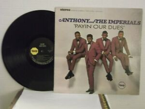 Little-Anthony-amp-The-Imperials-Veep-16513-034-Payin-039-Our-Dues-034-US-LP-st-soul-Mint