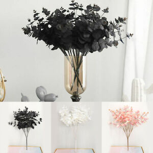 5Twigs-20Heads-Elegant-Imitation-Artificial-Eucalyptus-Flower-Wedding-Decor-G9A