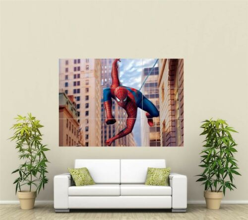 Marvel Spiderman Giant XL Section Wall Art Poster VG123