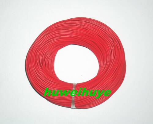 12//0.1mm 27AWG Hookup Stranded Circuit Wire Red new 30m 30 Metres
