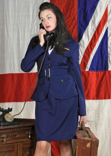 Womens 40s WRAF Uniform Costume