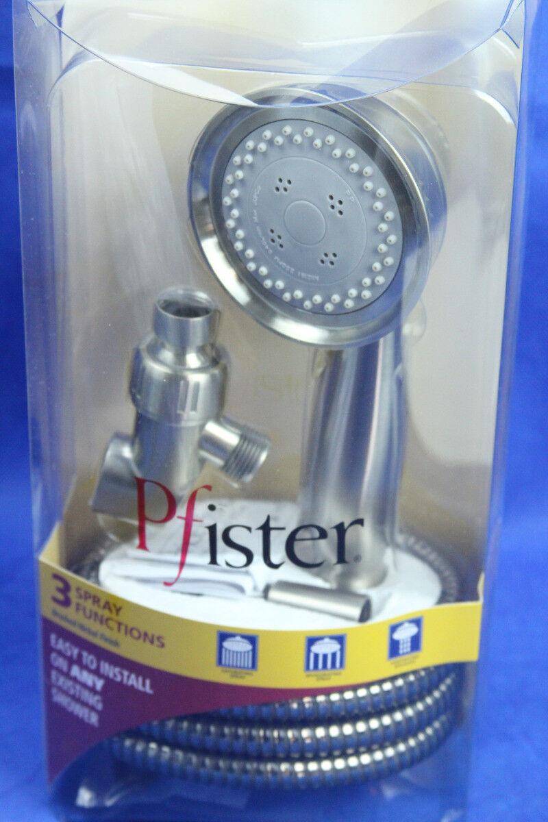 Pfister 016-180K 60-Inch Anti-Twist Metal Hose Brushed Nickel
