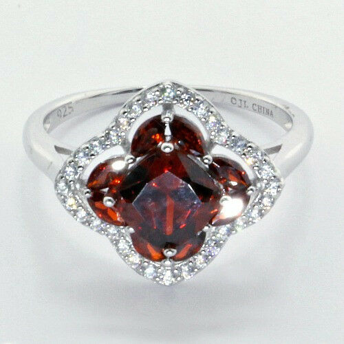 Several New Sterling Real Gemstones Rings In 3 Different Colors to Choose From