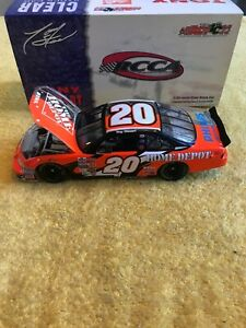 2002-TONY-STEWART-20-HOME-DEPOT-GRAND-PRIX-CLEAR-CAR-1-24-ACTION-NASCAR-DIECAST
