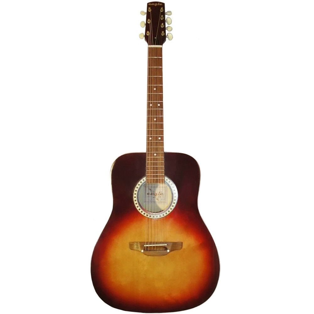 New Russian Seven 7 String Acoustic Guitar, Classical Classic, Eagle, Gipsy, 207