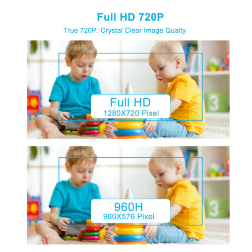 XVIM 5in1 4CH 1080N DVR  720P TVI IR Night Vision Home Security Camera System US