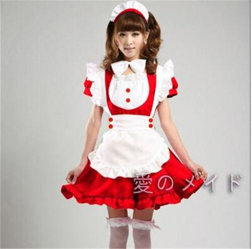 Lolita Cute Inu x Boku SS charmante Princesse Maid Robe verrouillable kawaii uniforme
