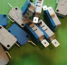 Micro Switch 21A SPST 250 Vac V3 N/C Microswitch TFCHV4VP005AW  x 10pcs @ £0.10p