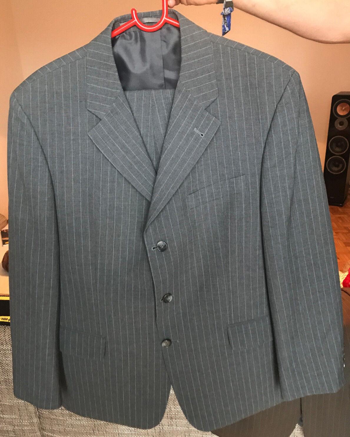 Herren Anzug, selten getragen, vom Herrenausstatter, Gr. 26, grau, DIGEL