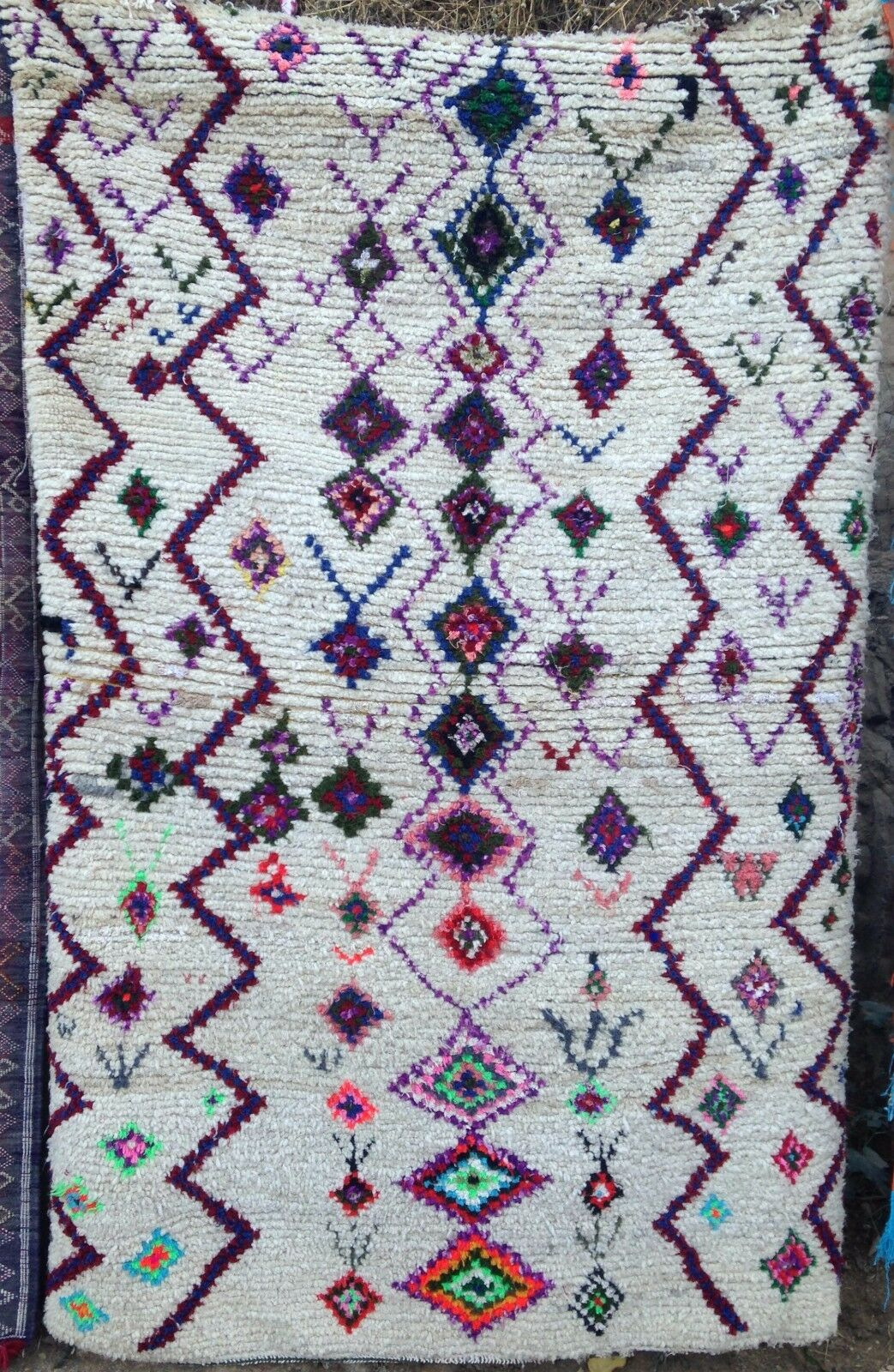 MOROCCAN RUG cm   Ourika Valley 205 x 130 cm RUG 26a117