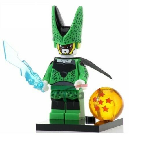 G3 Nuovo in Blister Perfect Cell Dragonball Custom Figures Gashapon MOC LEGO