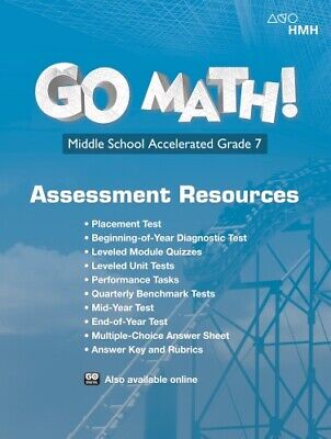 7th Grade 7 Accelerated Go Math StA Assessment Resource Standards 2018 EBay