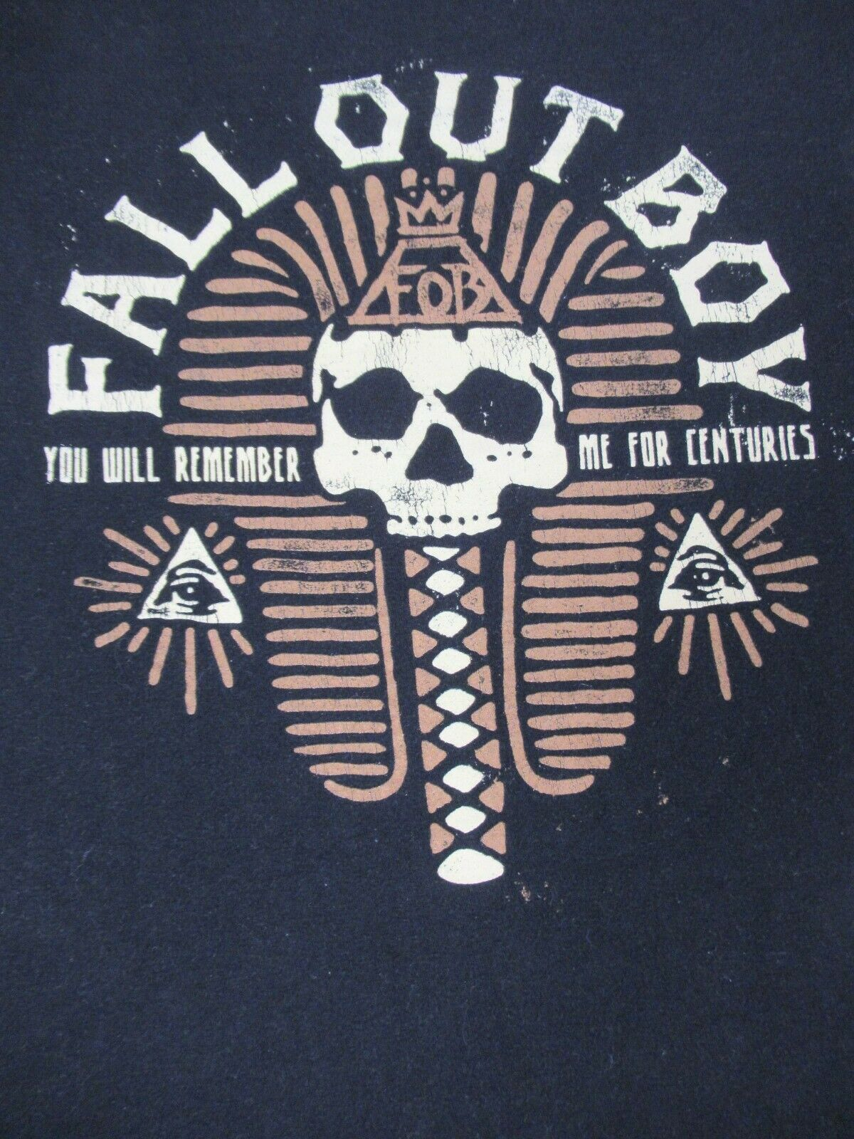 Fall Out Boy Mummy You Will Remember Me For Centuries Black Small