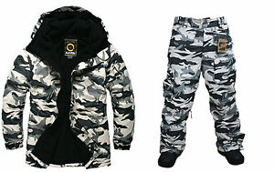 f83685712d Image is loading SOUTHPLAY-Unisex-Winter-Premium-Light-Military-Ski- Snowboard-