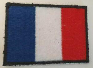 Ecusson brodé drapeau France