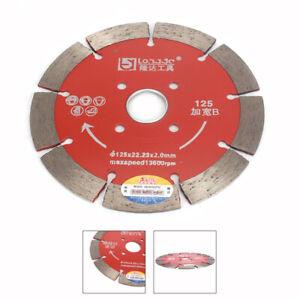 "125mm 5""Diamond Circular Saw Blade Cutting Disc Wheel for Marble Granite Stone"