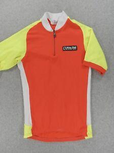 Pearl Izumi 1 2 Zip Short Sleeve Neon Cycling Jersey (Mens Medium ... b69838156