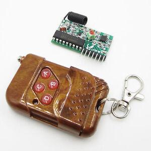 315Mhz-IC-2272-L4-4-key-remote-control-4-road-wireless-control-DIY-Kit-BSG