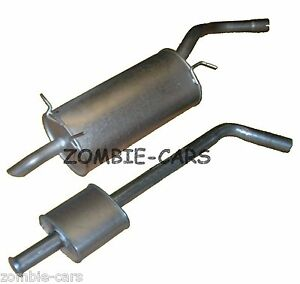RENAULT MEGANE 1.6,1.8,1.9,2.0 00-02 EXHAUST MIDDLE CENTRE SILENCER PIPE