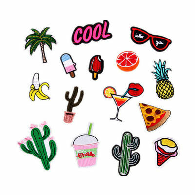 15pcs Embroidered Sew Iron On Patches Badge Hat Bag Clothes Craft DIY CKPA83601