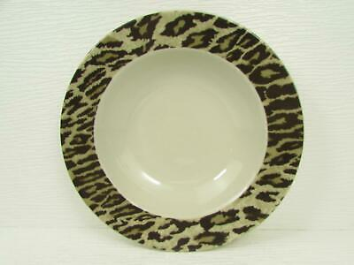 Leopard Print Jungle Jim 222 Fifth Dinner Plate Nick /& Nora Home 5 Available