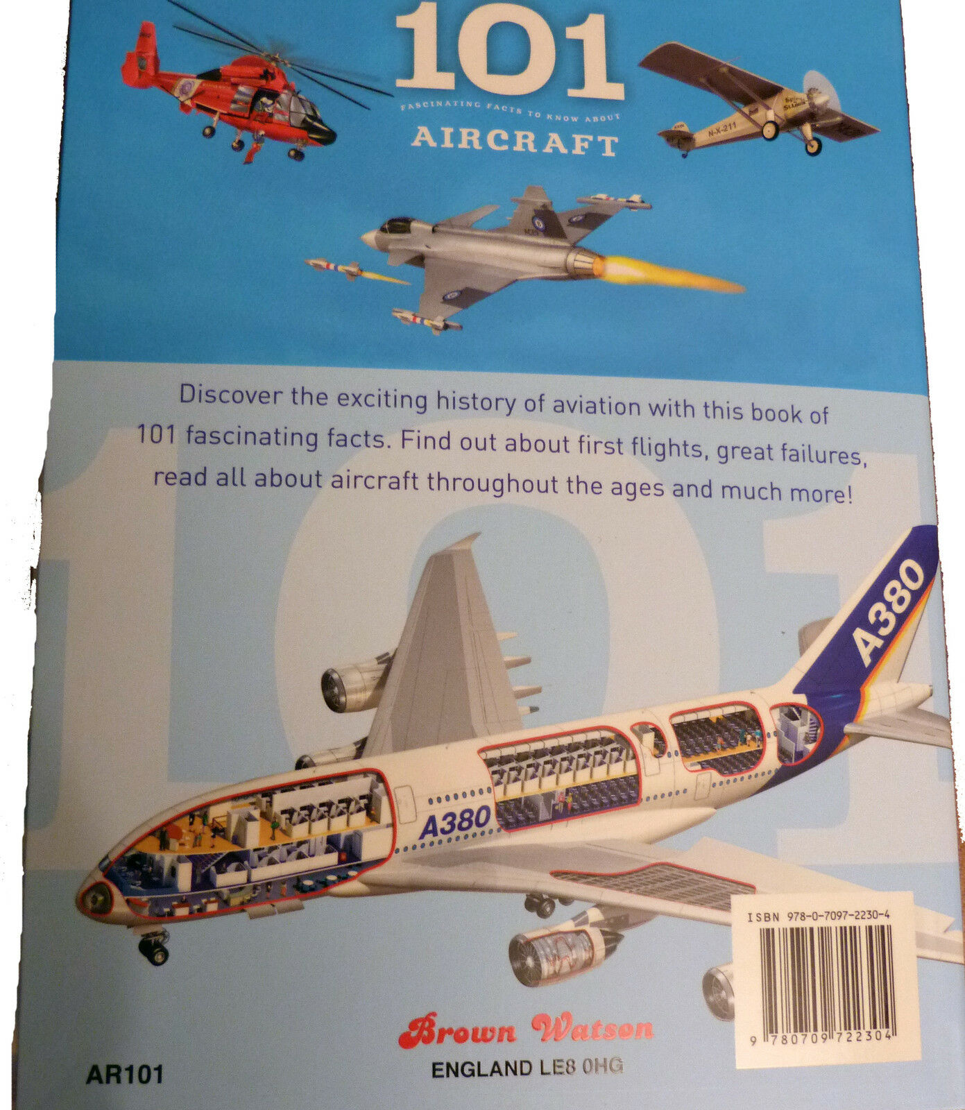 101 Fascinating Facts to Know About Aircraft Good Book ISBN 978070