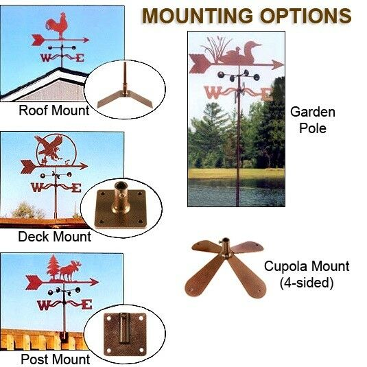 Dragonfly and Cattail Weathervane - Weather Vane with Choice of Mount