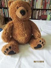 """KOHLS CARES FOR KIDS PLUSH 13"""" BROWN BEAR - BOOK """"BEAR HAS A STORY TO TELL"""""""
