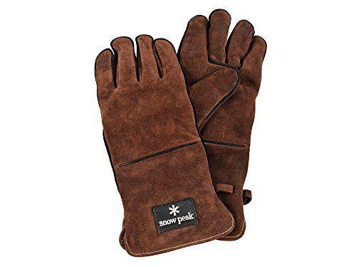 Details about  /Snow Peak Fireside glove Brown UG-023BR