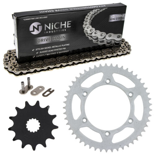 Sprocket Chain Set for Yamaha YZ125 13//49 Tooth 520 Front Rear Kit Combo
