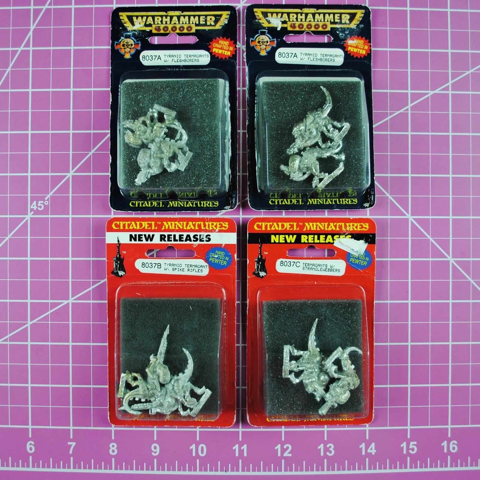 Warhammer 40K Tyranid Termagants (4 Packs )Metal OOP Citadel Tyranids Termagant