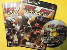 MX vs. ATV Untamed  (Sony PlayStation 2, 2007) PS2 Complete. Black Label. Tested