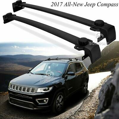 For 2017-2018 All-New Jeep Compass OE Style Aluminum Roof Rack Cross Bar Carrier