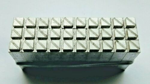 30 x 12 point 20 Borders // Printers Ornaments Letterpress metal printing type