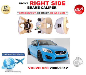 FOR-VOLVO-C30-2006-2012-FRONT-RIGHT-BRAKE-CALIPER-1-6-1-8-2-0-2-4-T5-D3-D4-D5