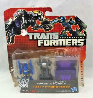 Transformers Fall Of Cybertron Ravager Frenzy Rumble générations FOC Disc Lot