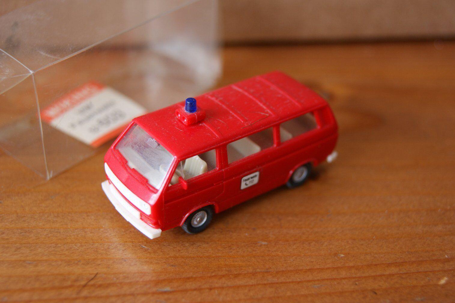 Wiking Volkswagen VW Transporter Feuerwehr 12603