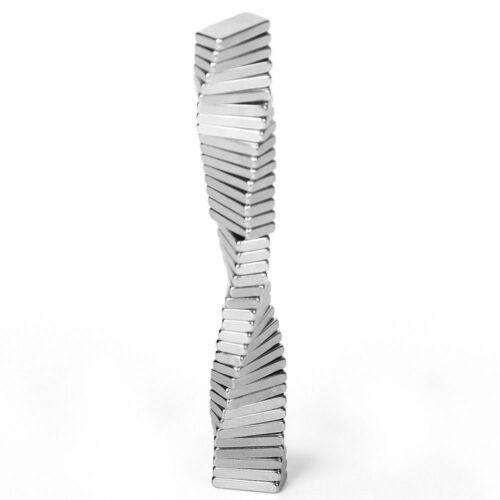 40x Starke Neodym Magnete Quader N42 10 x 5 x 2mm Magnet Haltemagnete Pinnwand