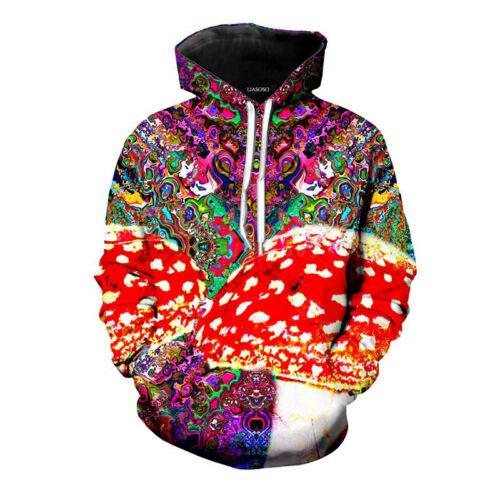 Unisex Women Men Hypnosis Tie-dye 3D Print Hoodies Casual Pullover Sweatshirt