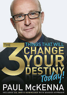 1 of 1 - The 3 Things That Will Change Your Destiny Today by Paul McKenna (Paperback,...