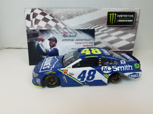NASCAR 2017 JIMMIE JOHNSON BRISTOL RACE VIN LÅGA 1 24 CAR