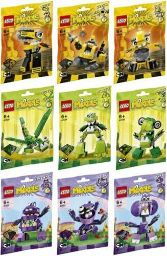 Lego Mixels Series 6 Complete Set of 9 Factory Sealed New