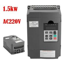 Motor Variable Frequency Drive Single To 3 Phase Speed Vfd 0 400hz 15kw