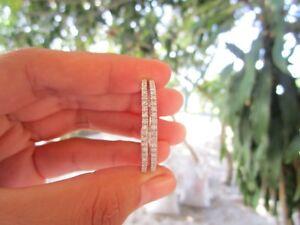 2.40 Carat Diamond White Gold Loop Earrings 14k sepvergara
