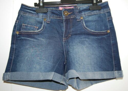 Brookhaven Ladies/' Women/'s Denim Shorts Short Trousers Dark Wash Size 6