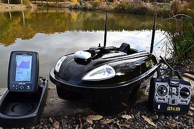Waverunner Sport New 5.8ghz Lithium Battery Bait Boat /& Toslon TF500 Fishfinder