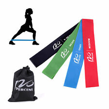 4pcs Resistance Loop Band Exercise Yoga Bands Rubber Fitness Training Strength