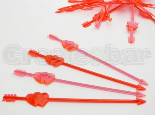 Cupids ARROW Cocktail agitateurs-Saint Valentin Mariage Verre Décorations de fête