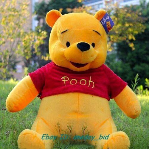 New Giant Plush Winnie Pooh Cute Bear Kids Cartoon Doll Toy Raccoon
