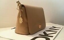 NWT DKNY Dune CROSBY EGO LEATHER Crossbody Shoulder Bag Handbag  MSRP $ 250.00